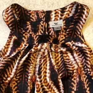 Worthington sleeveless blouse.